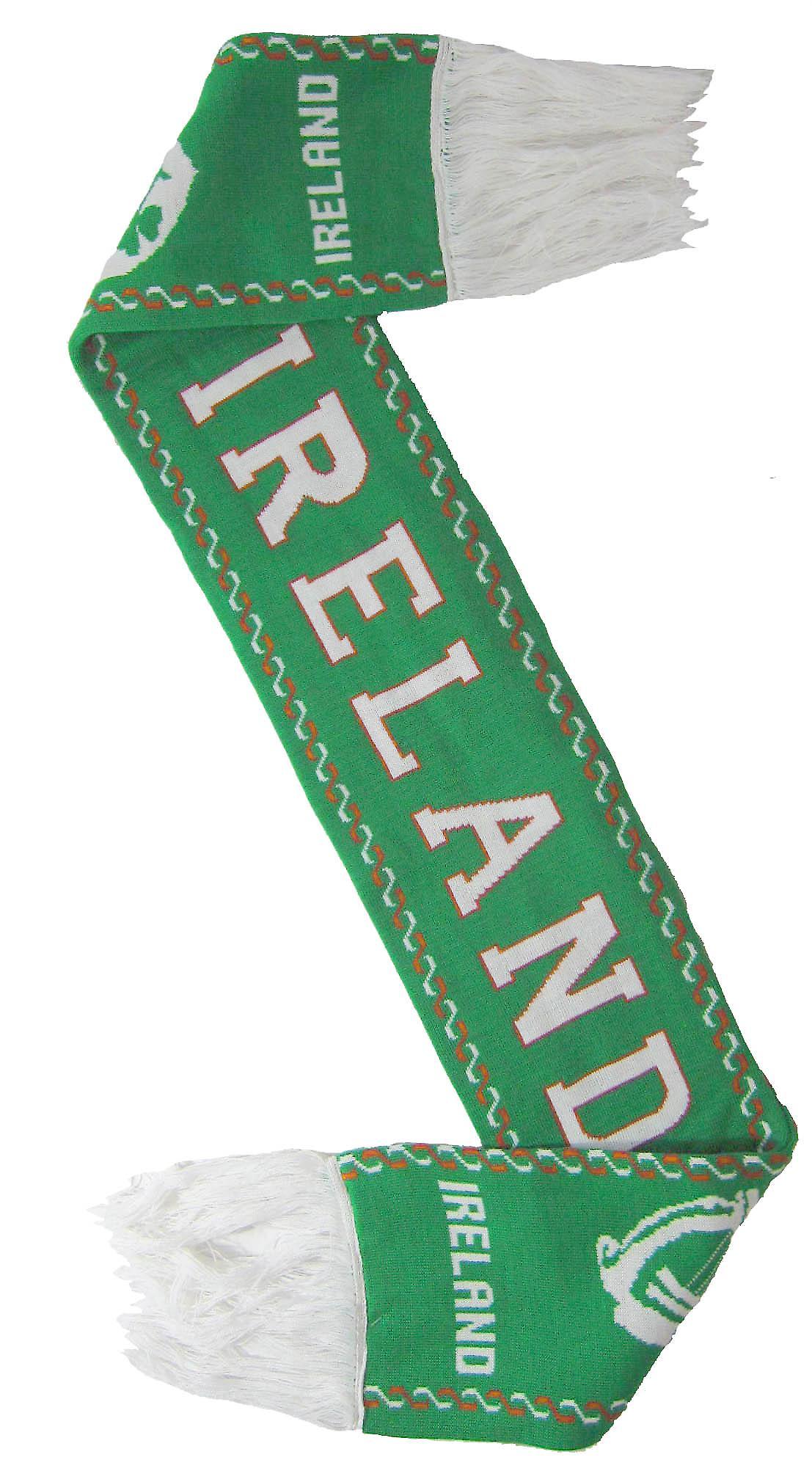 Ireland Harp Scarf