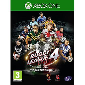 Rugby League Live 4 World Cup Edition Xbox 1 Spiel