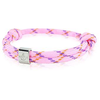 Skipper bracelet surfer band node maritimes bracelet pink/violet 6781