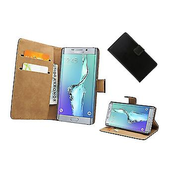 Pouch/leather wallet-Samsung Galaxy S6 Edge Plus