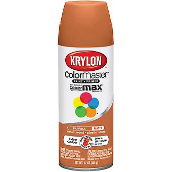 Colormaster Indoor/Outdoor Aerosol Paint 12oz-Paprika