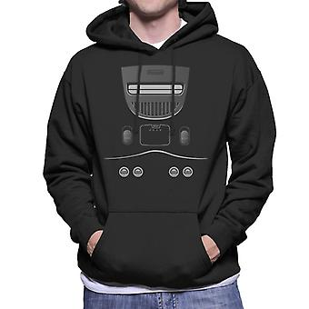 Nintendo 64 Gaming Console mannen Hooded Sweatshirt