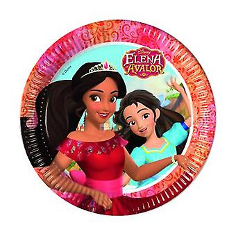 Elena of Avalor Caribbean party plates Ø 23 cm 8 piece children birthday theme party