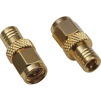 SMB adapter SMB plug-SMA plug BKL Electronic 04110461 pc(s)
