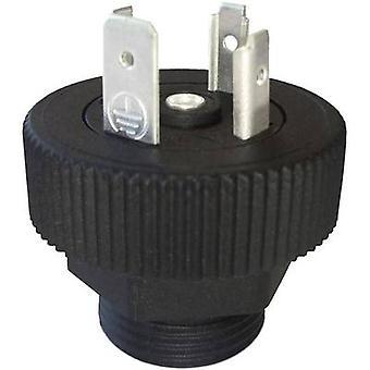 Hirschmann 931 297-006 GSP 3 M 20 Connector Plug Black Number of pins:3 + PE