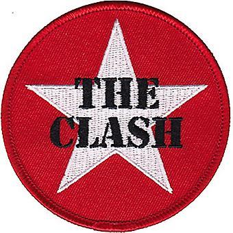 Der Zusammenstoß Sterne Logo zum Aufbügeln / Nähen-auf gestickt Patch