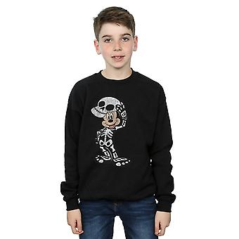 Disney Boys Mickey Mouse Skeleton Sweatshirt