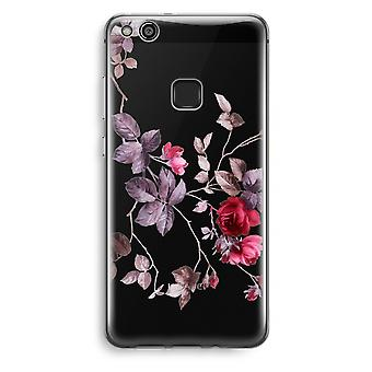 Huawei Ascend P10 Lite Transparent Case (Soft) - Pretty flowers