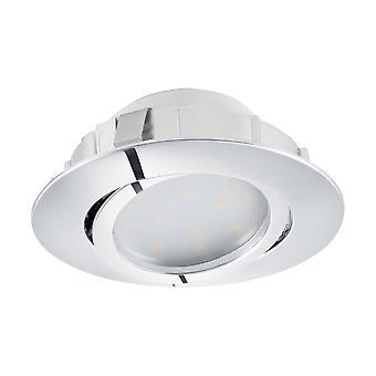EGLO infällda LED Spott 84 Chrome Pineda