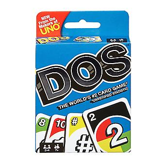 Mattel UNO DOS Classic Kids Multiplayer Family Fun Game