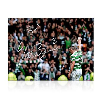 Scott Brown Signed Photo: 5-1 Win At Ibrox
