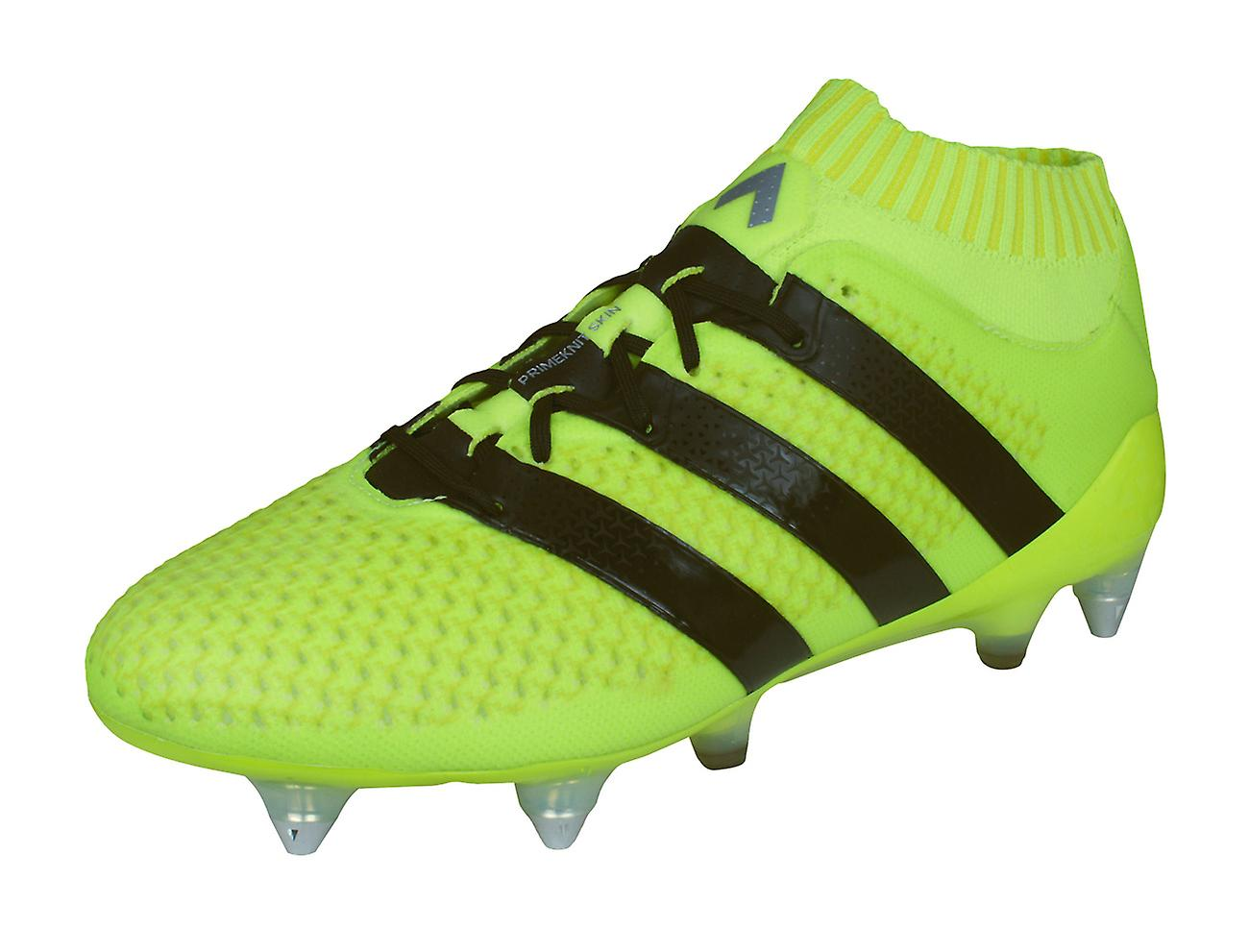 Adidas Ace 16.1 Primeknit SG Mens Football bottes   Cleats - jaune