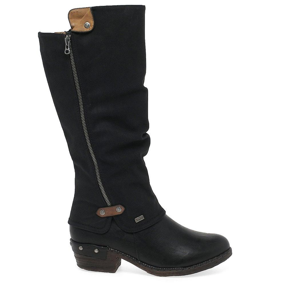805d7987573 Rieker Sierra Womens lang støvler | Fruugo