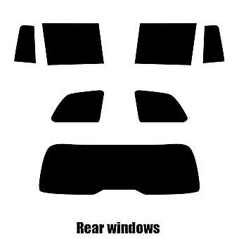Pre cut window tint - Mercedes GLS - 2017 and newer - Rear windows