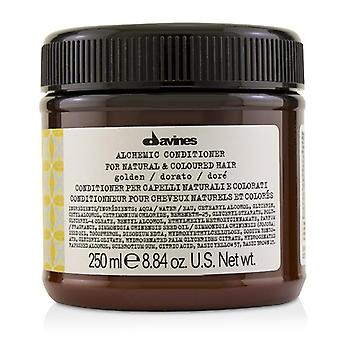 Davines Alchemic Conditioner - # Golden (For Natural & Coloured Hair) - 250ml/8.84oz