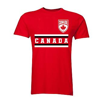Canada Core Football pays T-Shirt (rouge)
