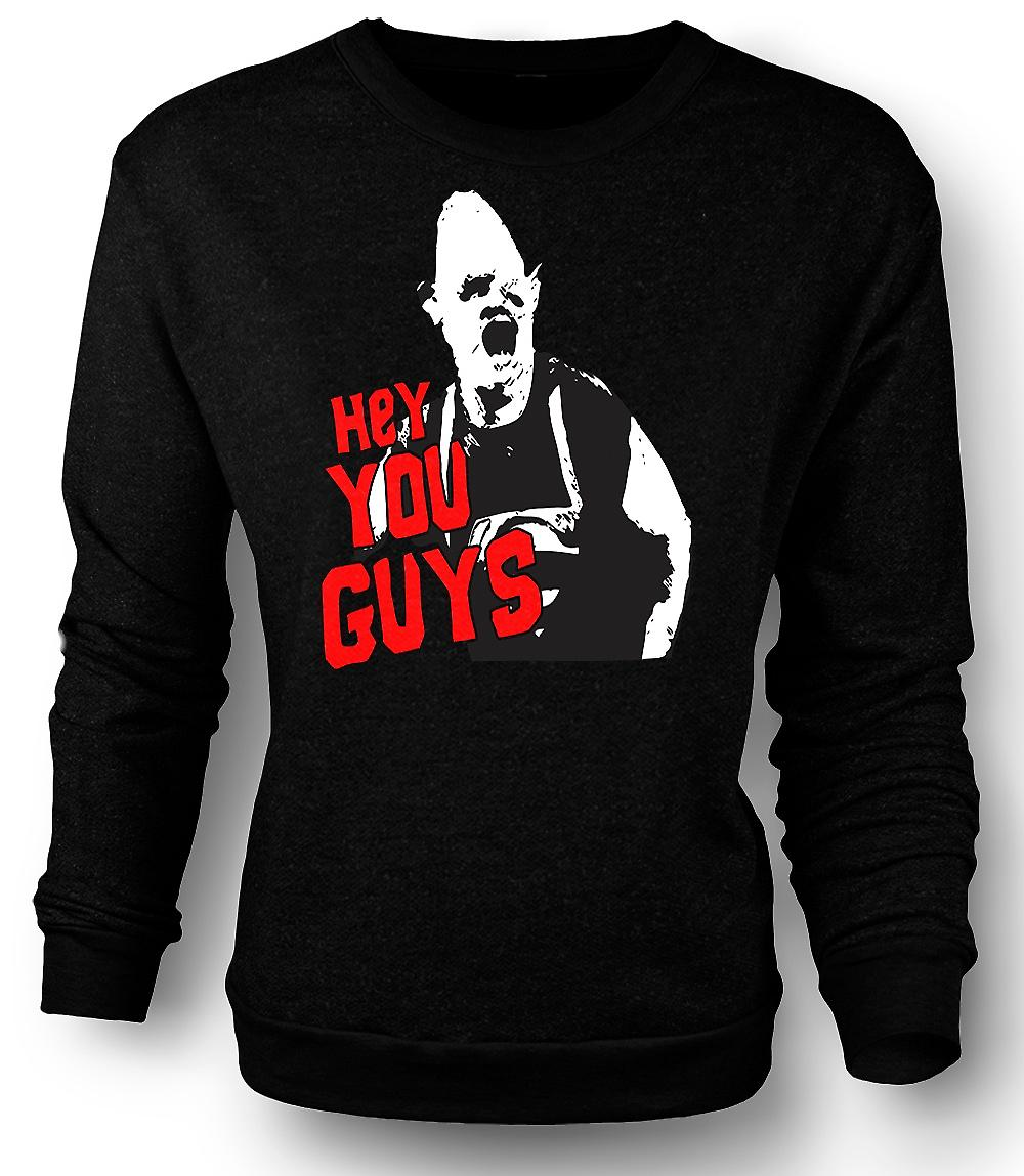 Mens Sweatshirt Goonies Sloth Hey You Guys
