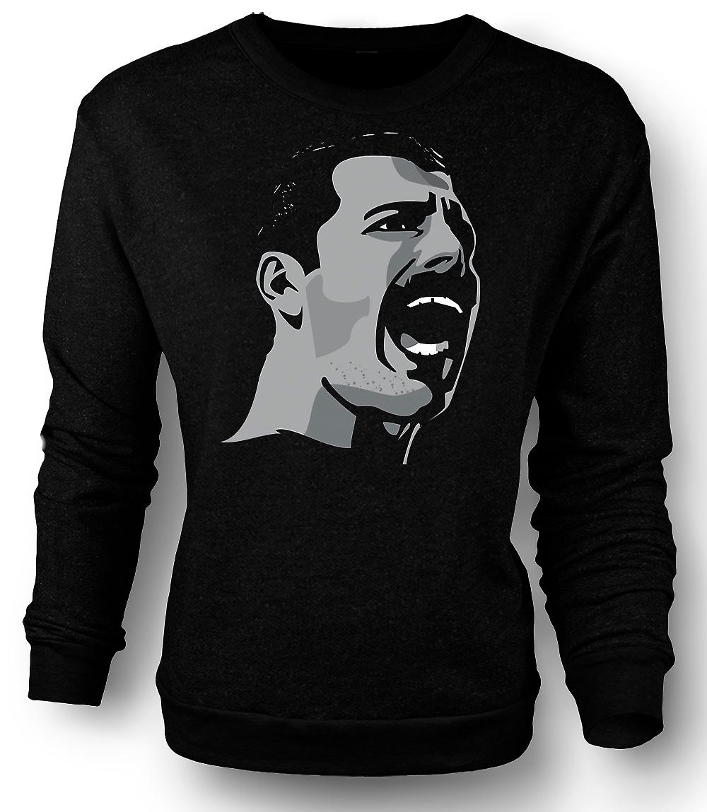 Heren Sweatshirt Freddie Mercury Pop Art portret