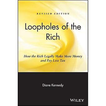 Kryphål i rika: Hur rika lagligt tjäna pengar och betala mindre skatt