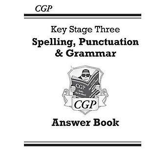 Stavning, interpunktion och grammatik för KS3 - svar för arbetsboken (med nätupplagan)