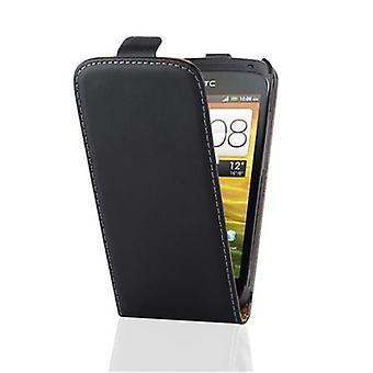 Cadorabo tapa uksessa kansi HTC 1 1 S kotelon suojus-puhelimen kotelo Flip Design sileä Faux nahka-kotelo kotelo tapa uksessa tapa uksessa kirja taitto tyyli