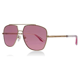 Marc Jacobs MARC 271/S EYR Gold / Pink MARC 271/S Square Pilot Sunglasses Lens Category 1 Size 58mm