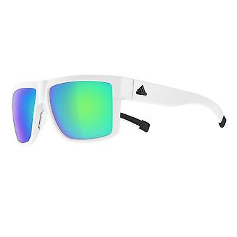 Adidas a427 6065 White 3Matic Square Sunglasses Lens Category 3 Lens Mirrored Size 60mm
