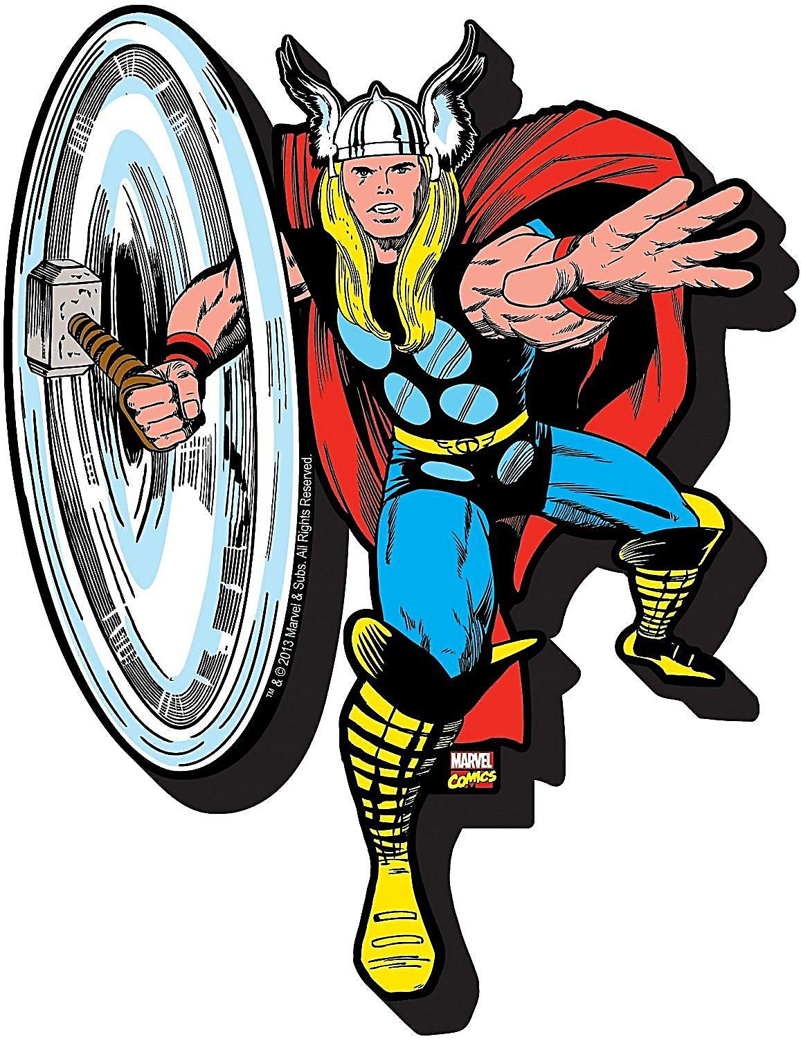 Thor chunky thick fridge magnet    (nm)
