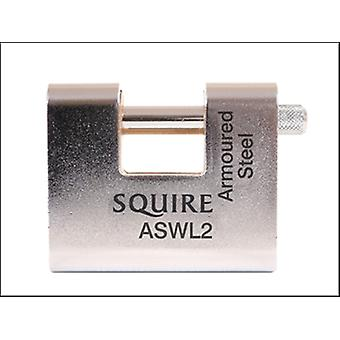 ASWL2 WAREHOUSE PADLOCK 80MM STEEL ARMOURED