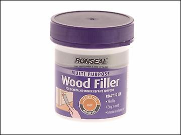 Ronseal Multi Purpose Wood Filler Tub Light 250g