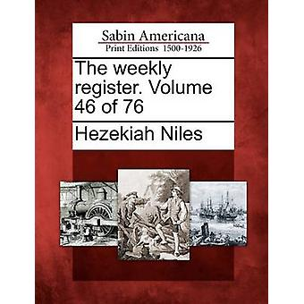 السجل الأسبوعية. حجم 46 من 76 من نايلز & حزقيا