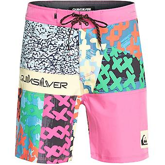 Quiksilver Highline More Paint 18 Mid Length Boardshorts