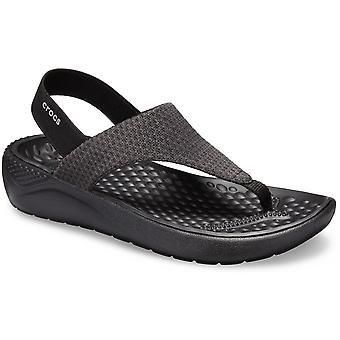 Crocs Womens Literide lumière Ankle Strap Flip Flop sandales