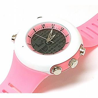 Monte Carlo Pink Digital Display Analogue Sports Watch M6050
