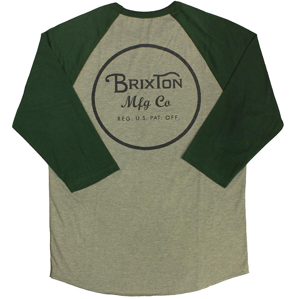 Brixton Wheeler T-Shirt Heather Grey