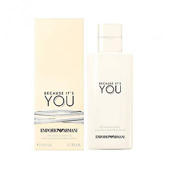 Armani Because It's You Body Lotion