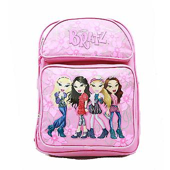 Mochila-Bratz-Pink 4 Girls (saco de escola grande) New Book Girls brlh1976