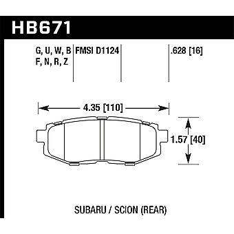 Hawk Performance HB671B.628 HPS 5.0