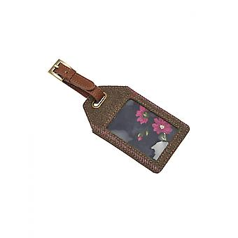 Joules Its Mine! Tweed Luggage Tag - SS19