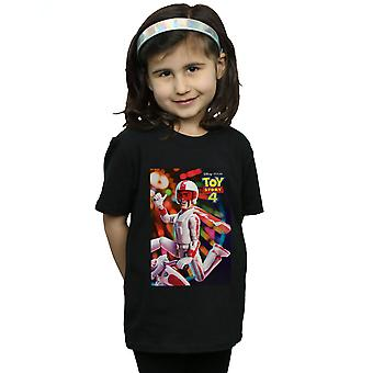 Disney Mädchen Spielzeug Geschichte 4 Duke Caboom Poster T-Shirt