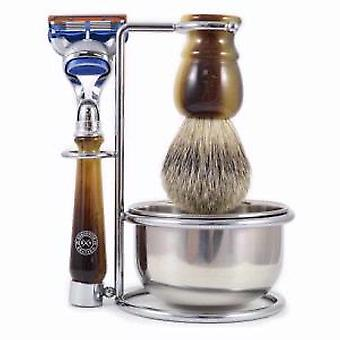 Executive Shaving Company Gillette Fusion Shaving Set en Faux de Hornos