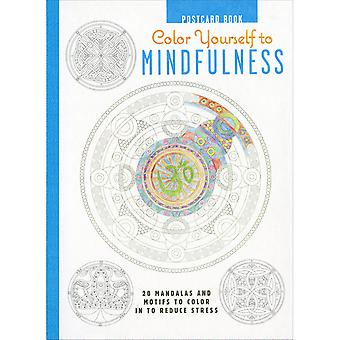 Cico Books-Color Yourself To Mindfulness Postcards CIC-49351