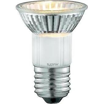 HV halogen 72 mm Sygonix 230 V E27 50 W Warm white EEC: D Reflector bulb dimmable 2 pc(s)