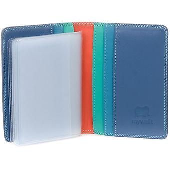 Mywalit Aqua Credit Card Holder with Plastic Inserts