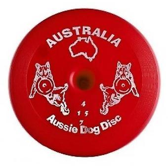 Aussie Dog Discs Red Heavy Duty