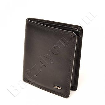 Berba SOFT MENS WALLET 002-005-00 Black