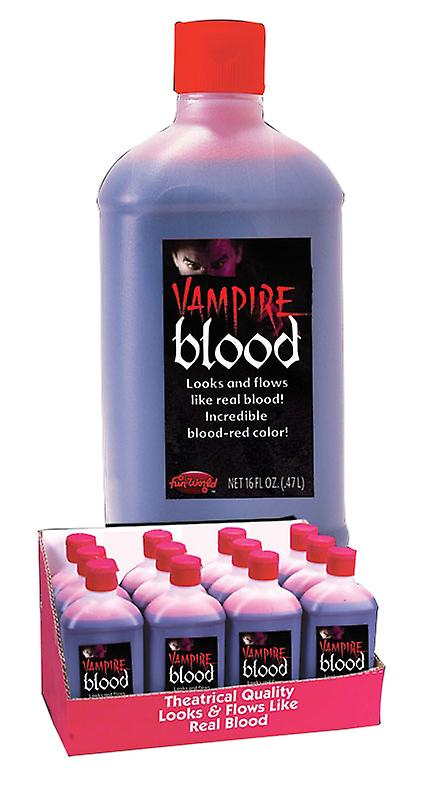 Palmer Agencies Bottle Fake Blood Halloween Fancy Dress Costume Accessory Red