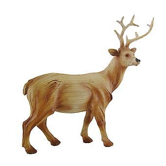 Декоративная отделка искусственной резные статуи 10 Лесной олень в.