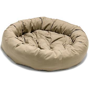 Dog Gone Smart Donut Bed Khaki 107cm