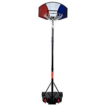 Charles Bentley Junior Youth Adjustable Stand Basketball Net Backboard Made of Powder Coated Metal - Portable - 1.38 - 2M Hoop